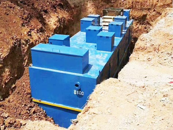 食品厂一体化污水设备处理方法
