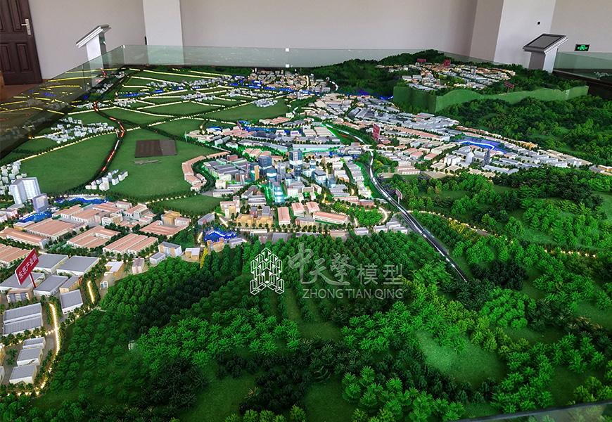 工业沙盘模型-红塔工业园区
