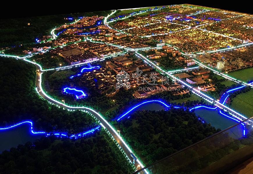城市规划模型-巍山县城市规划
