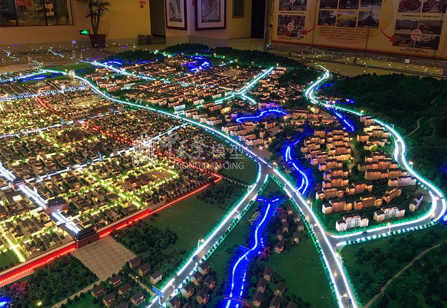 城市沙盘模型制造的要点有哪些?哪些细节是关键?
