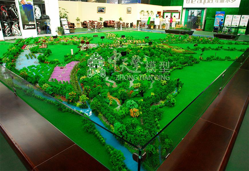 规划沙盘模型-星耀水乡