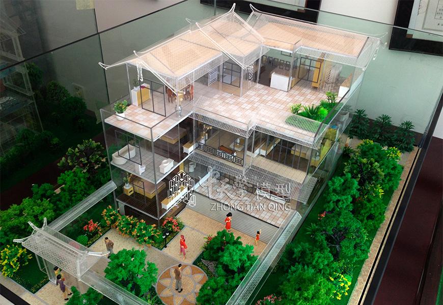 户型沙盘模型-丽江尚吉家园