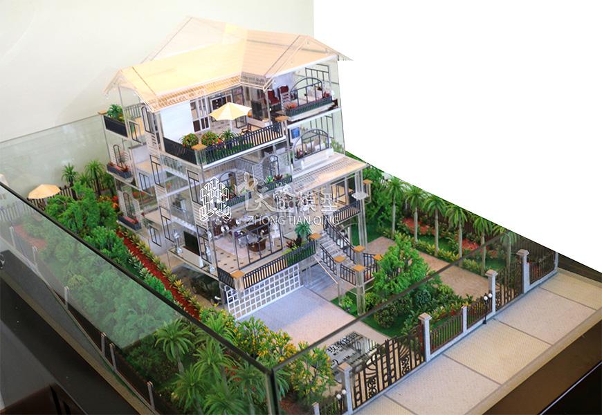 户型沙盘模型-文山玫瑰庄园