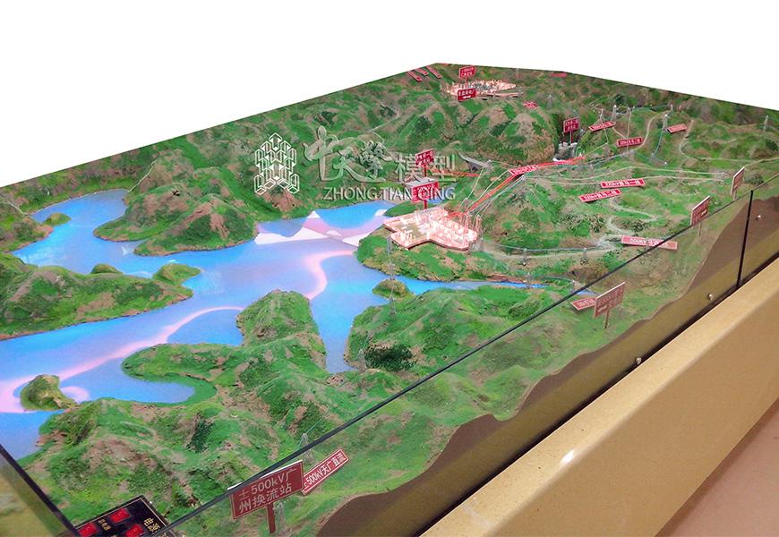 工业沙盘模型-贵州兴义南方电网