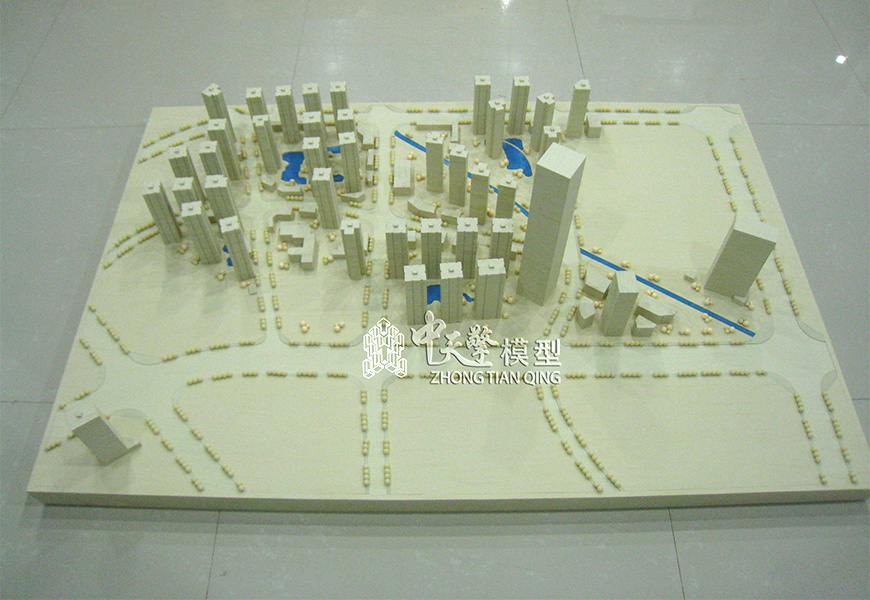 沙盘模型-怡成工作模型照片