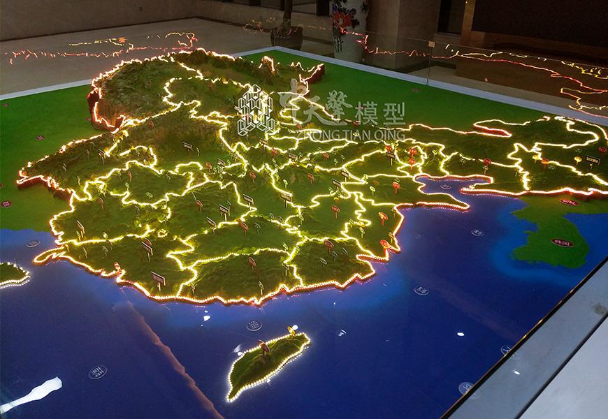 沙盘模型-中国地形地貌