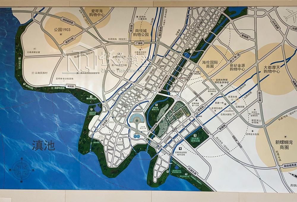 区域沙盘模型-恒大城