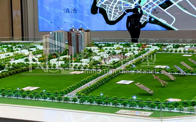 云南沙盤模型
