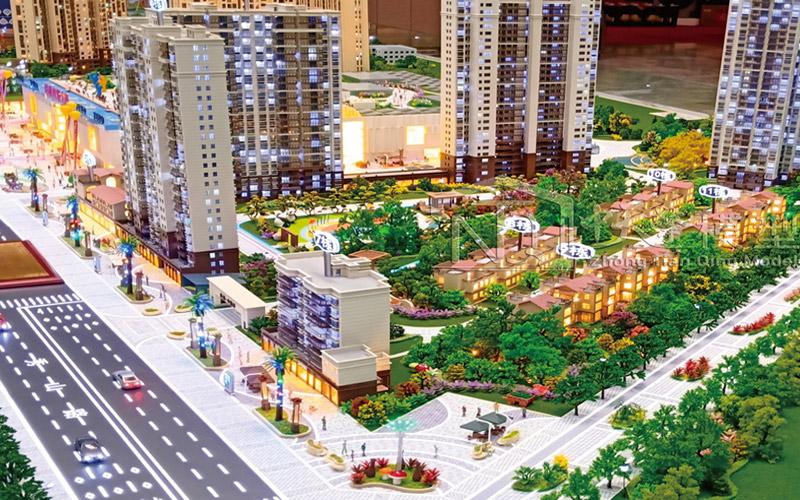 地產沙盤模型