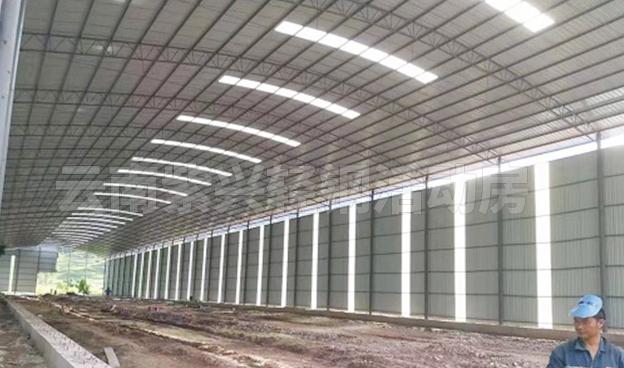 仓储轻钢结构大棚