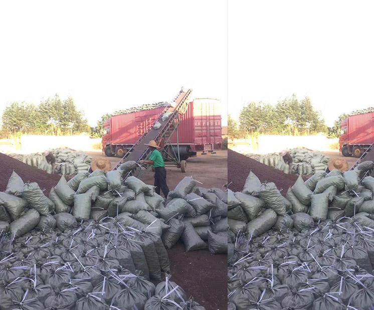 大型工程陶粒卸貨