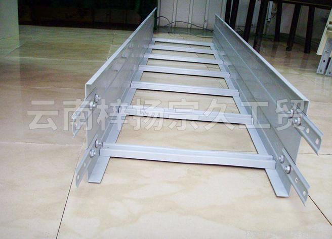 騰沖鋁合金梯式電纜橋架