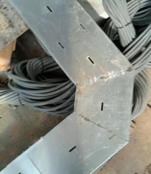 橋架在安裝過程中45度彎如何切
