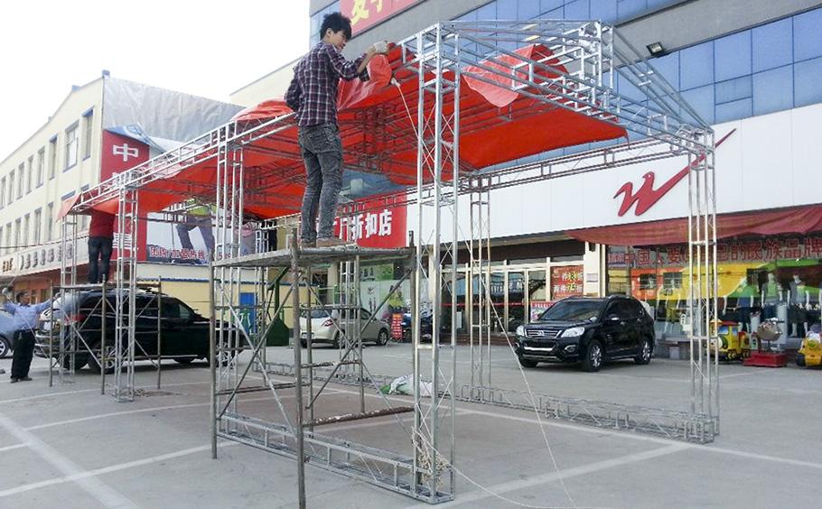 舞台桁架搭建中常见的问题及解决方法