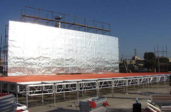 舞台桁架中的拼装舞台为什么深受欢迎