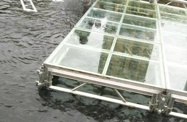 玻璃舞台桁架搭建