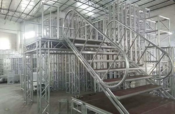 铝合金舞台桁架台步