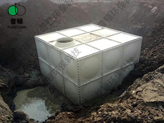 海绵城市雨水收集池