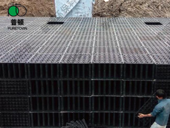 福州雨水模块收集系统