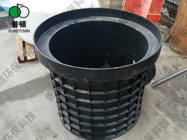 普顿市政塑料检查井800系列流槽起始井3