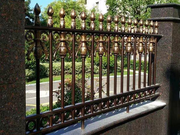 铝艺别墅栏杆