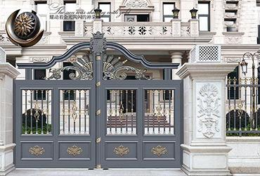 铝艺欧式大门