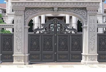 铝艺中式大门
