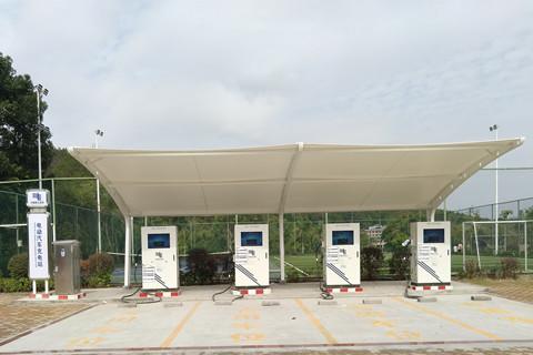 充电车车棚