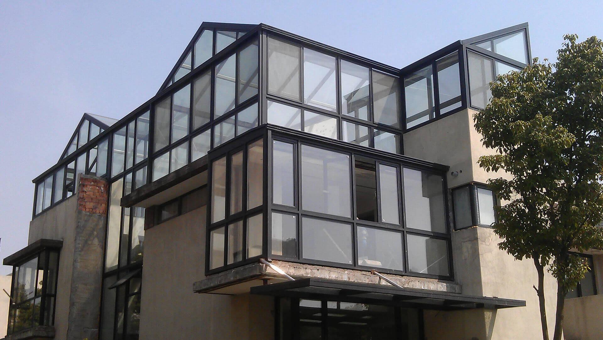 斜顶型阳光房