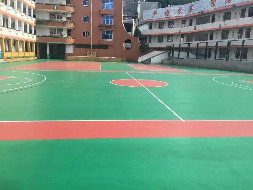 福建寿宁硅PU球场