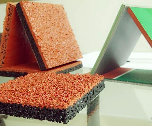 透气型塑胶跑道建设