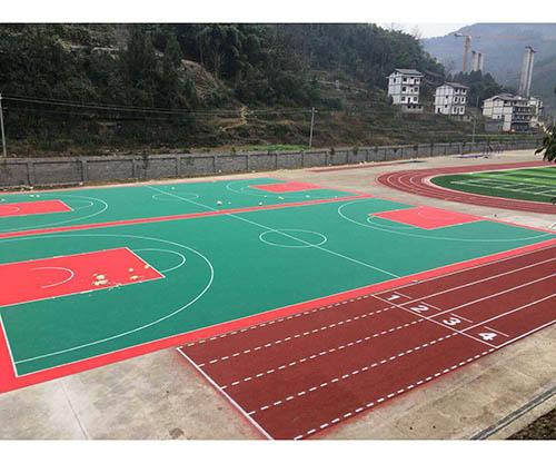 贵州遵义正安碧峰中学悬浮地板
