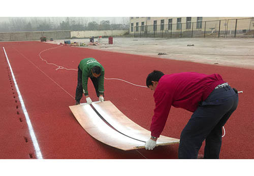 珠海塑膠球場施工