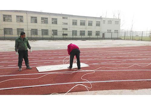 塑膠跑道建設