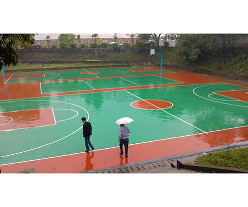 广西硅PU篮球场造价