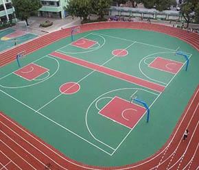 硅PU篮球场造价