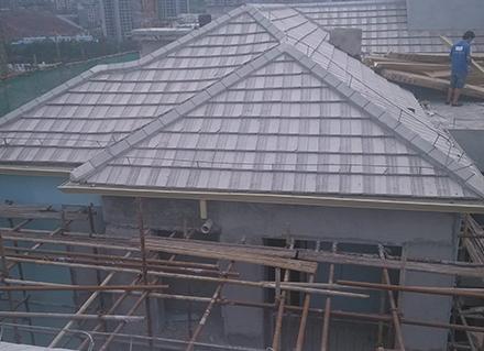 重庆云阳某小区天沟安装案例展示