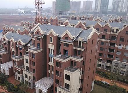 大足国兴海棠国际天沟安装案例展示