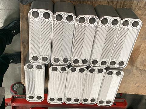 生产钎焊板式热交换器