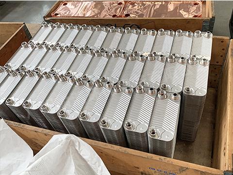 供应钎焊板式热交换器