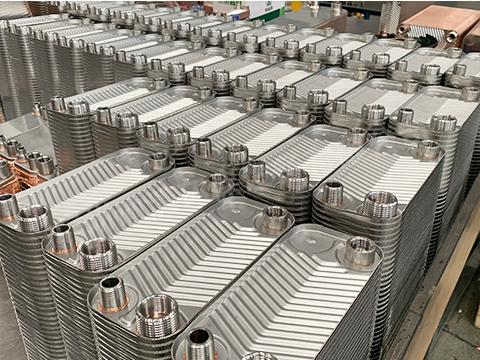 钎焊板式换热器销售