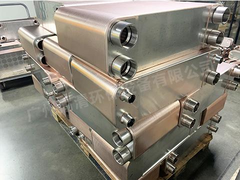 冷凝器钎焊板式换热器