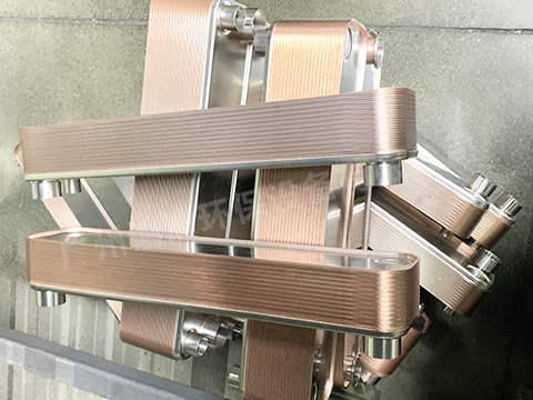 蒸发器钎焊板式换热器