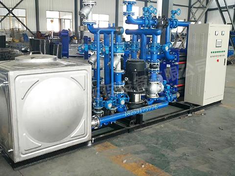 蒸汽板式換熱機組