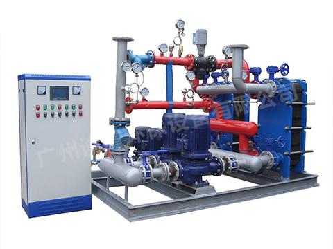 蒸汽式換熱機組