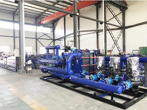 河北石家庄换热器机组生产厂家