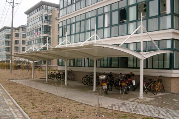 自行车棚膜结构