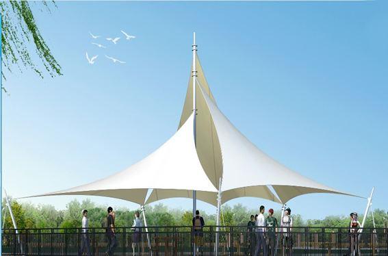 蓋州/燈塔如何設計張拉膜結構呢