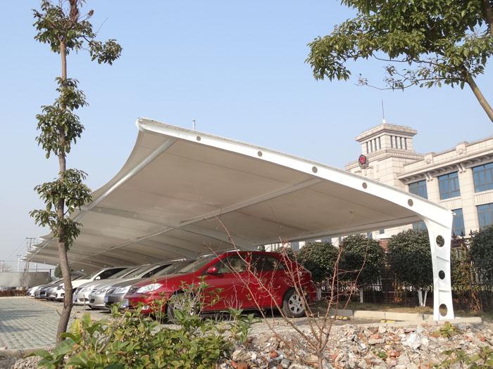 莱阳/莱州膜结构车棚连接构造的原则