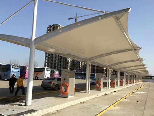 通化/白山膜結構停車棚建設隨處可見裝扮城市